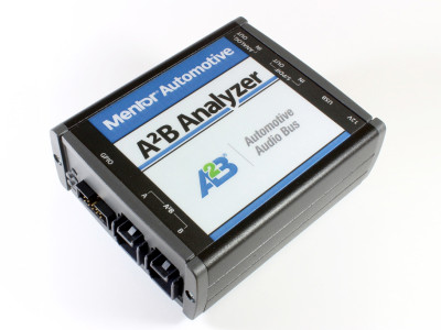 New Mentor Automotive Development Platform for Audio Network Systems based on Automotive Audio Bus Technology