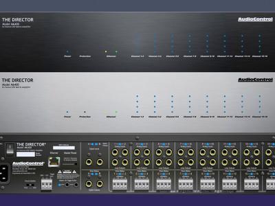 AudioControl New Multi-Zone Network Matrix-Amplifier Director Model M6400 Now Shipping