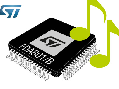 New Digital Power Amplifiers for Car Audio from STMicroelectronics