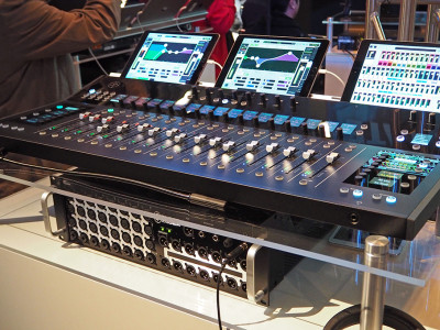 Mackie Unveils AXIS Modular Digital Mixing System