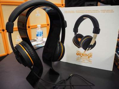 Orange Amplification New 'O' Edition Headphones Announced at NAMM 2016