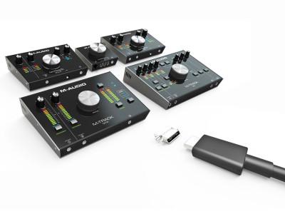 M-Audio Raises Home Studio Audio Interface Standards With Latest M-Track USB-C Series