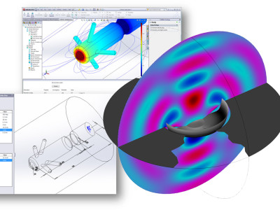 COMSOL Announces Integration of Simulation and 3D Design in the Latest Version of LiveLink for Solidworks