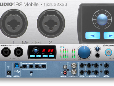 PreSonus Studio 192 Mobile USB 3.0 Audio Interface/Studio Command Center