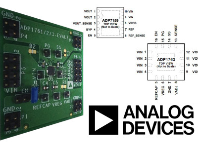 Analog Devices' Low Dropout Regulators Enable Cleaner Audio and Faster Communications