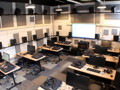 Innovative Dante-Enabled 3D Audio Lab at Virginia Tech