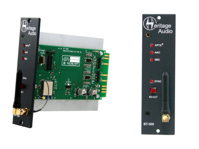Heritage Audio Unveils BT-500 Bluetooth Streaming 500 Series Module