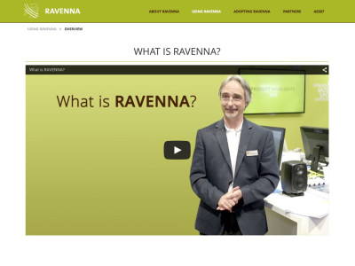 RAVENNA Gears Up for Busy 139th AES Convention in New York