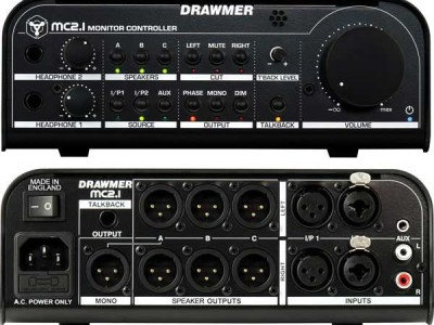 Drawmer Ships Its MC2.1 Monitor Controller