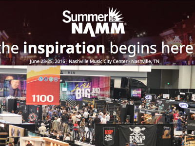 Music, Business and the Future of Audio at Summer NAMM 2016