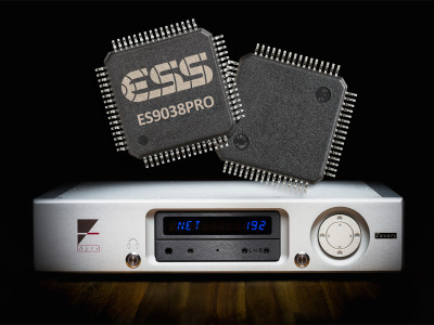Ayre Acoustics Adopts ESS SABRE ES9038PRO DAC on New QX-5 Twenty Digital Hub