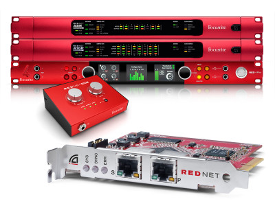 Focusrite Continues to Expand Successful RedNet Audio Network Range