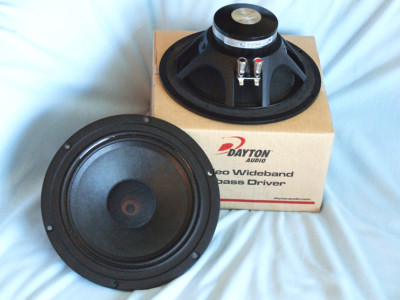 "Test Bench: Dayton Audio PM220-8 Wideband Neodymium 8"" Woofer"