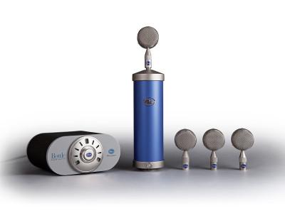 Blue Microphones Announces Bottle Mic Locker Tube Microphone System