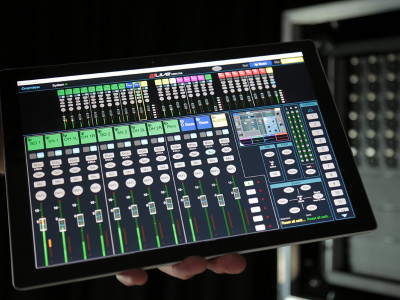 Allen & Heath Introduces Surfaceless Mixing And Preamp Modeling For dLive