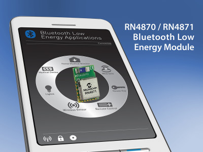 Microchip Announces Next-Generation Bluetooth 4.2 Solutions with Easy-to-Use Interface and Embedded Scripting Capability