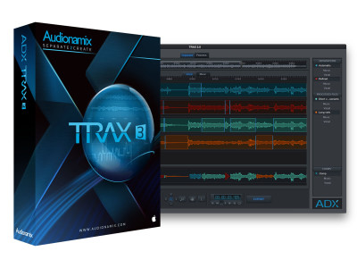 Audionamix Releases Version 3 Upgrade for ADX TRAX Pro, ADX TRAX and ADX Vocal Volume Control Plug-in