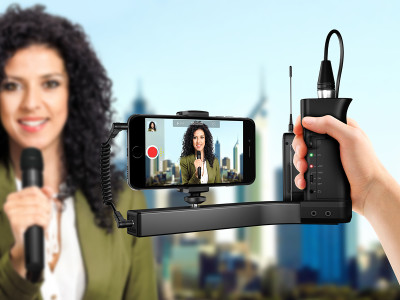 IK Multimedia iKlip A/V Pro-Quality Audio and Video Smartphone Mount