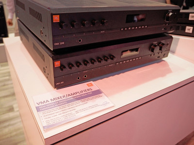 New JBL Commercial VMA Series Mixer/Amplifiers for Commercial Audio Applications