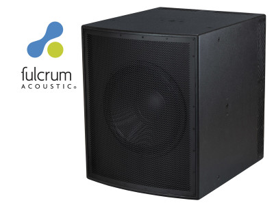 Fulcrum Acoustic Unveils New CS118 Subcardioid Subwoofer
