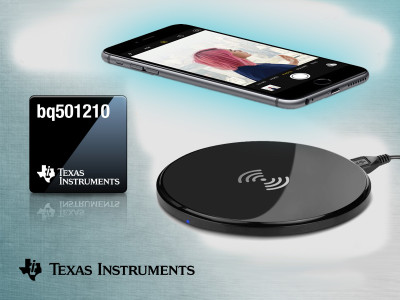 Texas Instruments Announces First Qi-Certified 15-W Wireless Power Transmitter