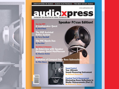 audioXpress September 2016 Speaker Focus Edition is Now Online!