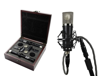 "Lauten Audio Expands ""Series Black"" Line with Two New Condenser Microphones"