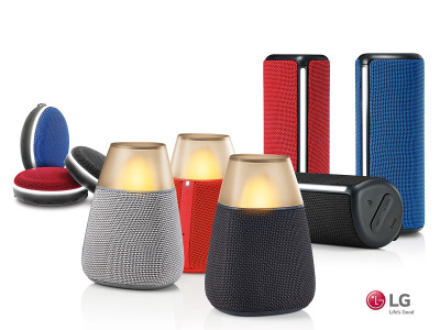 New Generation of LG Bluetooth Speakers Pairs Versatility with Premium Sound