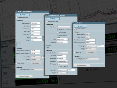 Audio Precision Introduces AGC, Octave Analysis and Audio-Video Sync Measurement Plugins