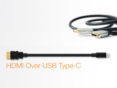 HDMI Releases Alternate Mode for USB Type-C Connector to Support Delivery of Native HDMI Signals to 4K/UltraHD Displays with No Adapters or Dongles