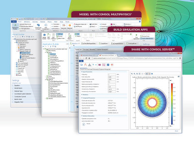 COMSOL Announces Latest Developments in Multiphysics Modeling, Simulation, and Application Design