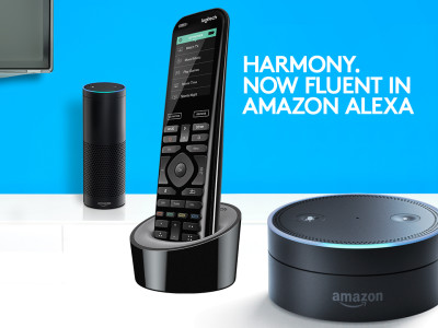 Amazon Alexa Can Control the Complete Room Entertainment System With Logitech Harmony Remotes
