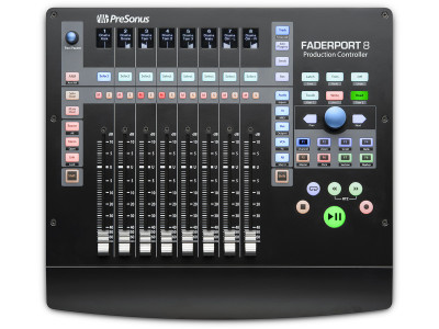 PreSonus Releases DAW Control Surface FaderPort 8