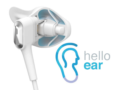 HelloEar Promotes Ergonomically Designed Arc Earphones on Kickstarter