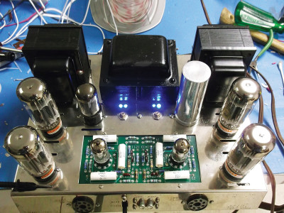 A Simple LED Bias Meter and Supply for the Dynaco ST70 and Other Tube Amplifiers