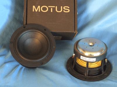 Motus Audio UH130PW1 Midbass Woofer