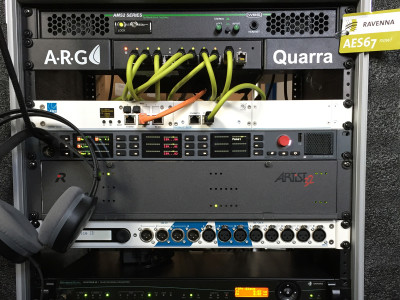 RAVENNA Showcases Interoperability Demo Rack with MNA at ISE 2017