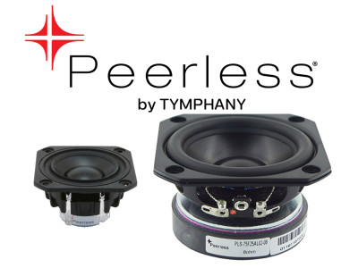 Peerless by Tymphany Speaker Drivers Available Worldwide from Digi-Key