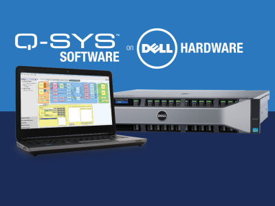 QSC Promotes Demonstration of Q-SYS Software Running on Standard Dell Server Hardware