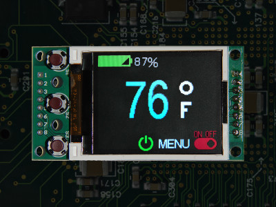 New Programming-Free LCD User Interface for Embedded Applications