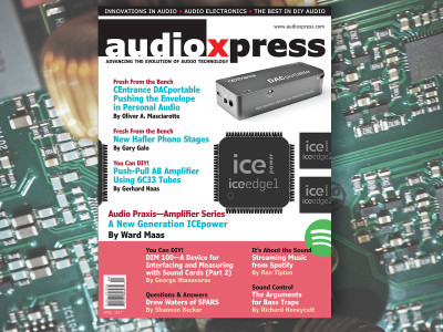Stay on the Edge of Audio Technology with audioXpress April 2017