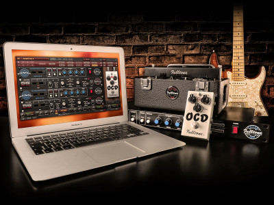 IK Multimedia Digitally Recreates Fulltone Guitar & Bass Effects Collection