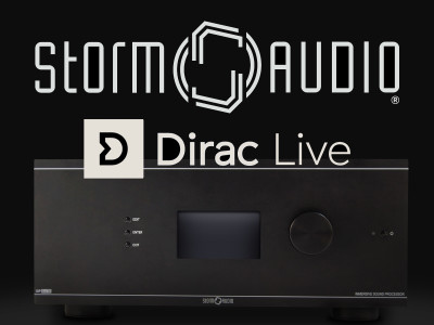 Dirac Live Room Correction Now Available on StormAudio High-End Immersive Audio Home Theater Products