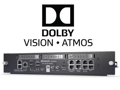 Dolby Announces New Integrated Media Server IMS3000 Combining Dolby Audio and Image Processing