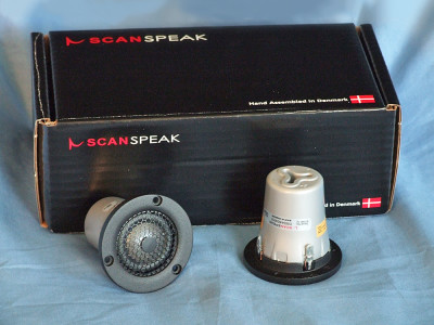 Test Bench: Two Beryllium Tweeters from Scan-Speak - D3004-604010 and the D3004-604000