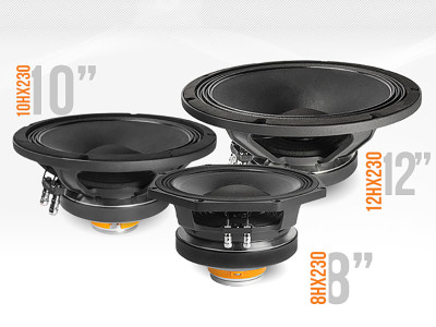 FaitalPRO Expands Range of Pro Audio Coaxial Loudspeakers