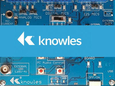 Knowles Introduces IA-610 Smart Microphone with Embedded Digital Signal Processor