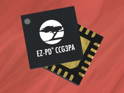 Cypress Announces Highly-Integrated Programmable EZ-PD CCG3PA USB-C Controller with Power Delivery 3.0 and Quick Charge 4.0 Support