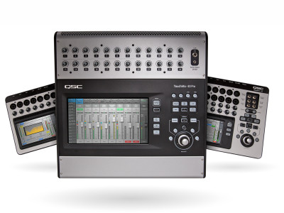 QSC Launches New Firmware for TouchMix Series Compact Mixing Consoles