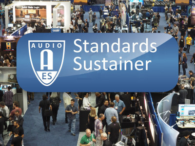 AES Launches Standards Sustainer Program to Expand Industry-Enhancing AES Standards Efforts